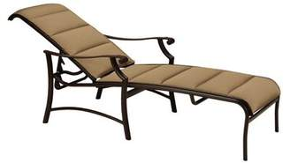 Tropitone Montreux II Padded Sling Reclining Chaise Lounge Tropitone