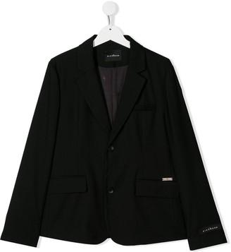 John Richmond Junior TEEN logo charm blazer