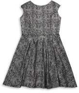 Un Deux Trois Girl's Cap Sleeve Dress