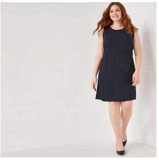 Joe Fresh Women+ Sheath Dress, JF Midnight Blue (Size 3X)