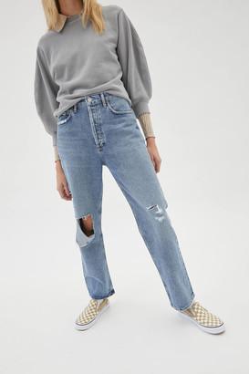 AGOLDE 90s High-Waisted Straight Leg Jean Lineup
