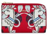 Furla Babylon Print Leather Coin Case