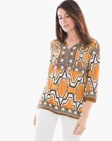 Chico's African Ikat Tunic