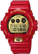 G-Shock 30th Anniversary Gold Dial Red Resin Watch