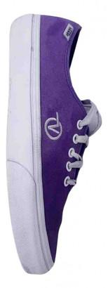 Vans Purple Suede Flats