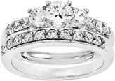 MODERN BRIDE 1/2 CT. T.W Diamond 14K White Gold Bridal Set