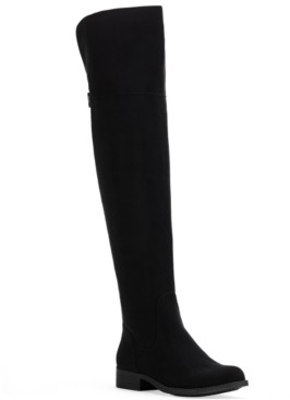 Sun + Stone Allicce Wide-Calf Over-The-Knee Boots, Created for Macy's Women's Shoes