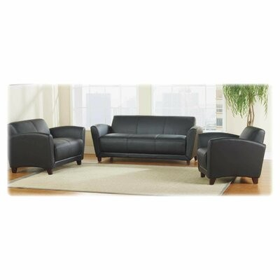 Thumbnail for your product : Lorell Accession Reception Seating Sofa Color/Finish: Black