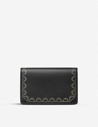 Cartier Guirlande de leather multi-card holder