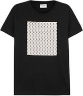 Saint Laurent King Queen Printed Cotton T-shirt