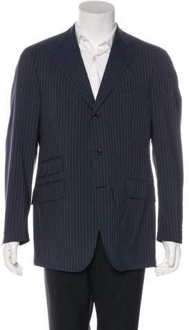 Etro Wool Pinstripe Blazer