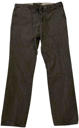 Incotex Grey Cotton - elasthane Jeans