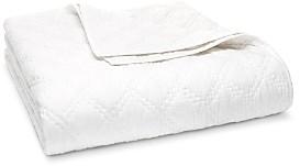 John Robshaw Lila White Coverlet, King - 100% Exclusive
