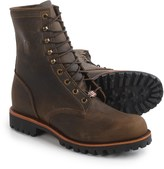 """Chippewa Selkirk Work Boots - Leather, 8"""" (For Men)"""