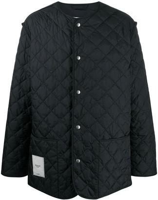 Maison Margiela Diamond Quilt Buttoned Jacket