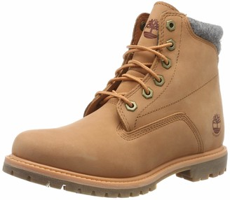 Timberland Women's Waterville 6 Inch-Basic Waterproof Lace-up