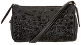 Unmade Petunia Leather Clutch Bag, Charcoal