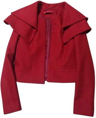 HUGO BOSS \N Red Wool Coat for Women