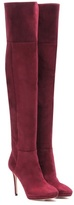 Jimmy Choo Hayley 100 Over-the-knee Suede Boots