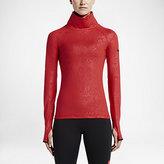 Nike Pro Warm Emboss Heights Vixen Zip Women's Training Top