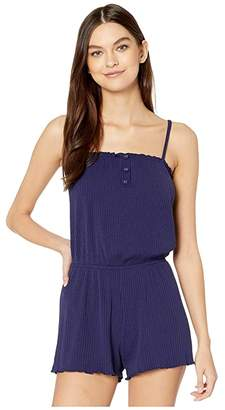 Becca by Rebecca Virtue Shoreline Short Romper Cover-Up
