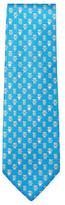 Salvatore Ferragamo Heart Bear Printed Tie