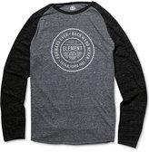 Element Men's Long-Sleeve Graphic-Print T-Shirt