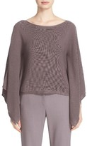 Lafayette 148 New York Women's Crop Silk & Cotton Kimono Sweater