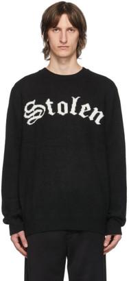 Stolen Girlfriends Club SSENSE Exclusive Black Arch Gothic Sweater