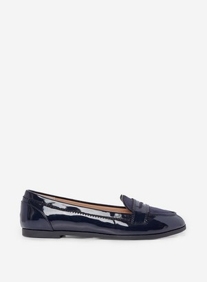 Dorothy Perkins Womens Wide Fit Navy 'Loyle' Loafers