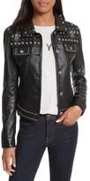 Rebecca Minkoff Women's Annatto Leather Jacket