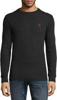 USPA U.S. Polo Assn. Long Sleeve Thermal Top