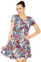 Betsey Johnson Graceful Gardens Dress