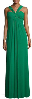 La Femme Kelly Floor-Length Dress