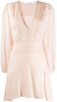IRO Vionina spotted mini dress