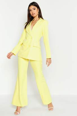 boohoo Fitted Tailored Blazer