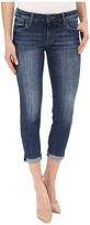 KUT from the Kloth Catherine Slim Boyfriend Jeans in Savior w/ Medium Base Wash