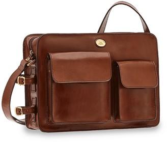 The Bridge Story Uomo Genuine Leather Men's Briefcase