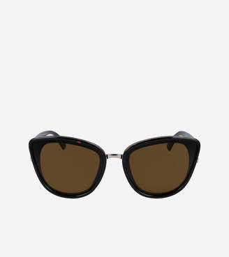 Cole Haan Oversized Cateye Sunglasses