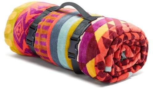 Pendleton Point Reyes Large Cotton Jacquard Beach Towel - Mens - Multi