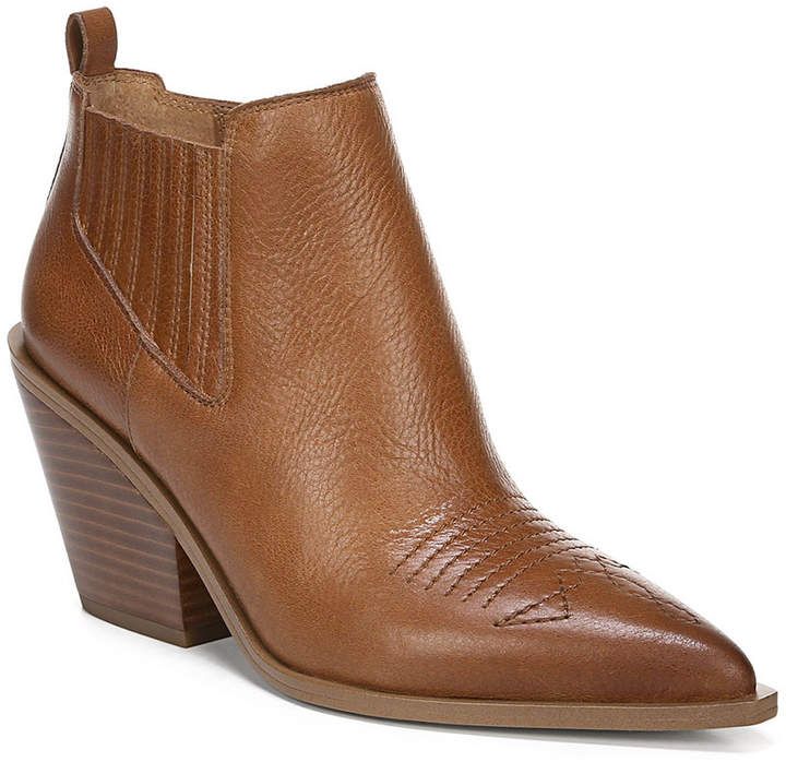 3fe85883a Franco Sarto Brown Women's Boots - ShopStyle