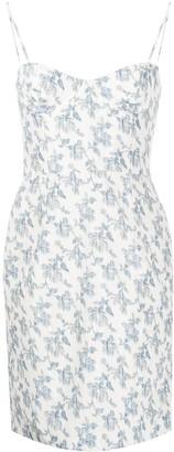Brock Collection Floral Mini Dress