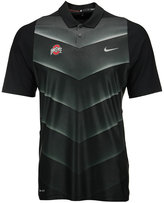 Nike Men's Ohio State Buckeyes Max Hypercool Fade Polo Shirt