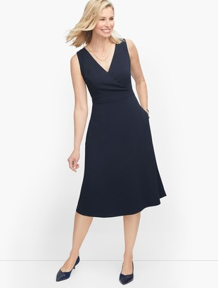 Talbots Easy Travel Fit & Flare Dress