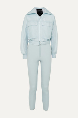 Cordova Telluride Convertible Paneled Ski Suit - Light blue