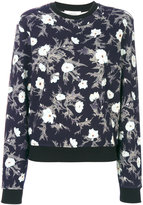 Carven floral print sweatshirt - women - Cotton - L