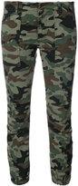 Nili Lotan military camouflage cargo pants - women - Cotton/Spandex/Elastane - 4