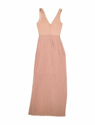 Nicholas Silk Long Dress Pink