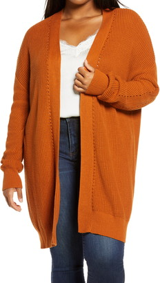 BP Open Stitch Cardigan