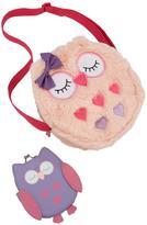 Very CUTE OWL - Faux Fur Owl Handbag & Owl Purse